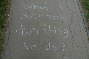 What is your most fun thing to do?